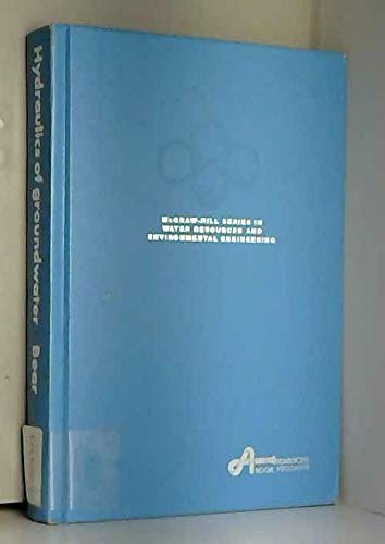 9780070041707: Hydraulics of Groundwater