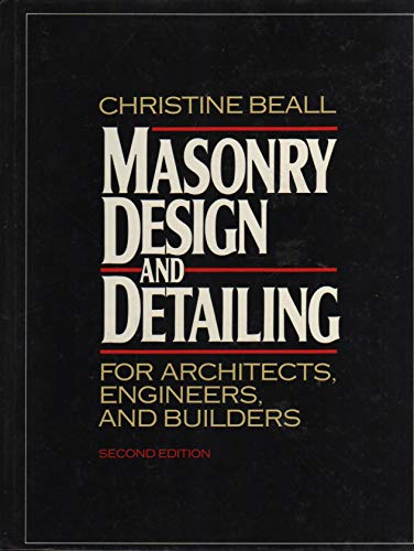 9780070042230: Masonry Design and Detailing: For Architects, Engineers and Builders