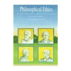 9780070042568: Philosophical Ethics