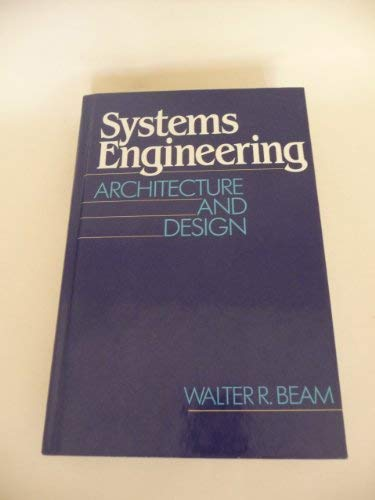 9780070042599: Systems Engineering: Architecture and Design