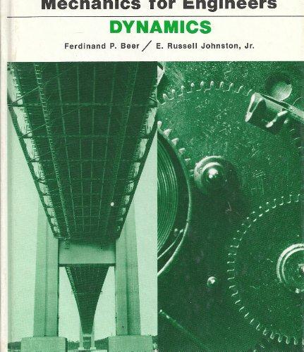 9780070042735: Mechanics for Engineers Dynamics 3ED