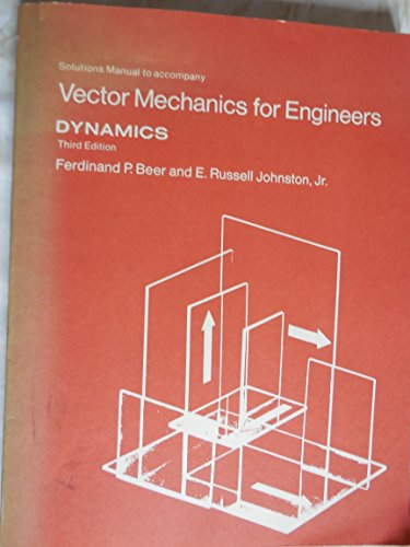 9780070042827: Solutions manual to accompany Vector mechanics for engineers : dynamics
