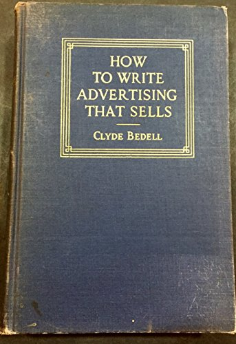 9780070042995: How to Write Advertising That Sells