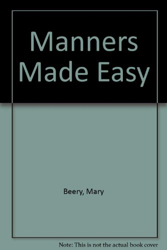 9780070043060: Manners Made Easy