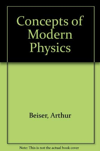 9780070043480: Concepts of Modern Physics