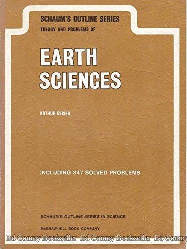 9780070043756: Theory and Problems of Earth Sciences (Schaum's Outline Series)