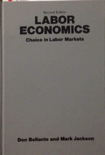 9780070043992: Labor Economics: Choice in Labor Markets