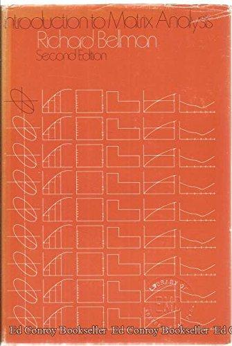 9780070044166: Introduction to Matrix Analysis