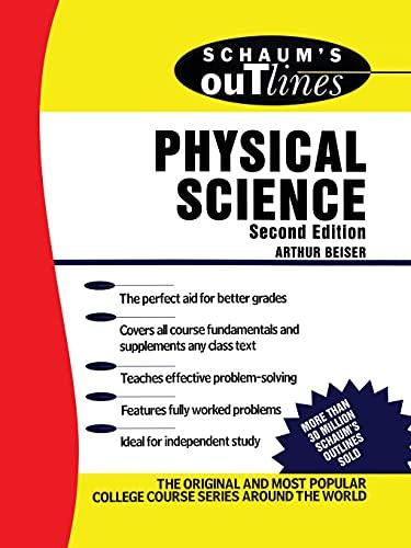 Schaum's Outline of Physical Science: Arthur Beiser