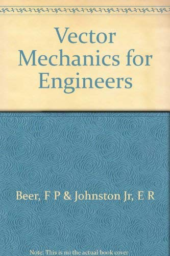 9780070045071: Vector Mechanics for Engineers (Statics)