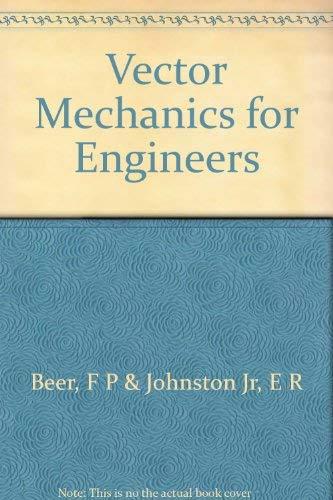 9780070045071: Vector Mechanics for Engineers