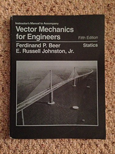 9780070045088: Vector Mechanics for Engineers: Statics: Solutions Manual