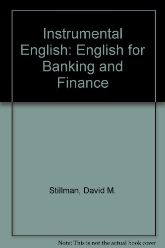 9780070045248: Instrumental English: English for Banking and Finance