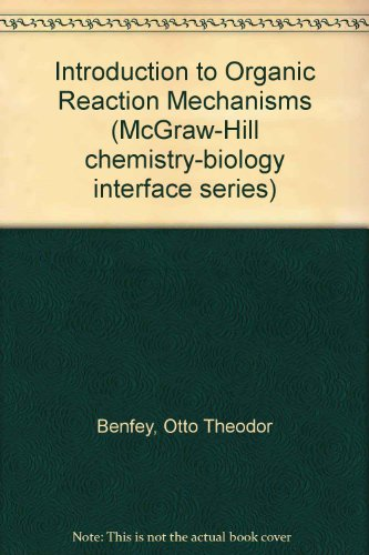 9780070045392: Introduction to Organic Reaction Mechanisms