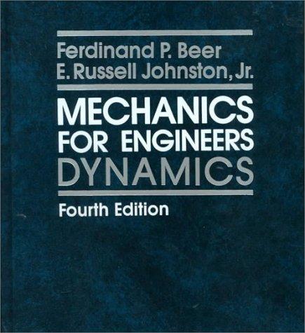 9780070045828: Mechanics for Engineers: Dynamics