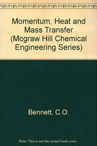9780070046719: Momentum, Heat and Mass Transfer