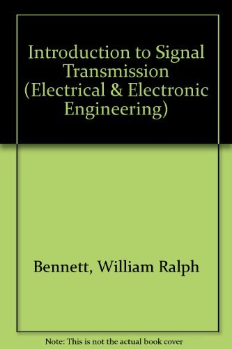 9780070046788: Introduction to Signal Transmission (Electrical & Electronic Engineering)