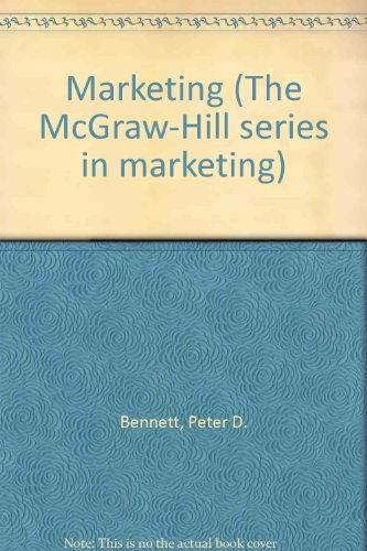 9780070047211: Marketing (Mcgraw Hill Series in Marketing)