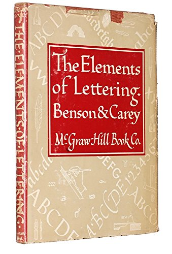 9780070047730: Elements of Lettering
