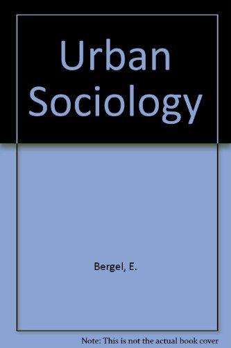 9780070048423: Urban Sociology