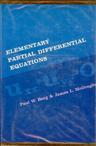 9780070048508: Elementary Partial Differential Equations