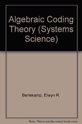 9780070049031: Algebraic Coding Theory (Systems Science)