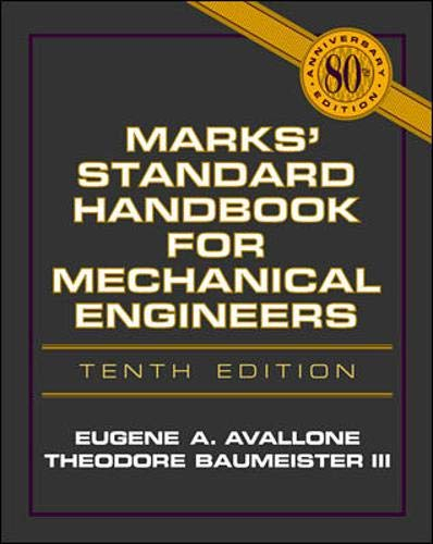 9780070049970: Marks' Standard Handbook for Mechanical Engineers