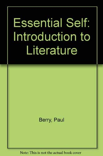 9780070050488: Essential Self: Introduction to Literature
