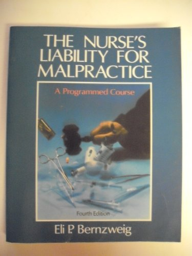 9780070050662: 4/E Nurses Liability Malpract.