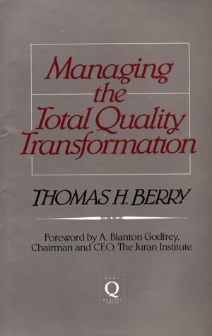 9780070050716: Managing the Total Quality Transformation
