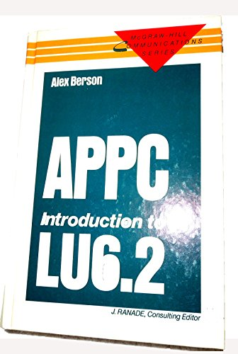 9780070050754: Appc Introduction to Lu6.2 (Mcgraw Hill Communications Series)