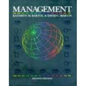 9780070050785: Management (Mcgraw-Hill Series in Management)
