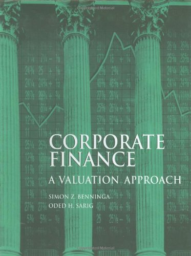 9780070050990: Corporate Finance: A Valuation Approach (McGraw-Hill Series in Finance)