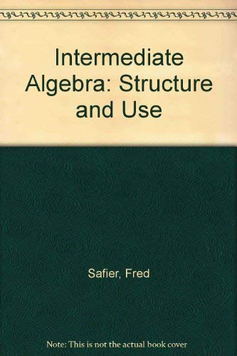 9780070051065: Student Solutions Manual to accompany Intermediate Algebra