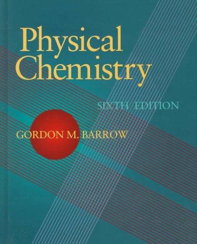 9780070051119: Physical Chemistry