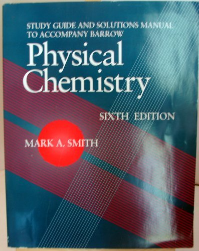 9780070051133: Physical Chemistry