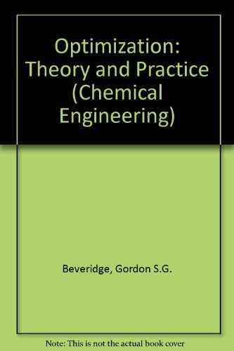 9780070051287: Optimization: Theory and Practice (Chemical Engineering)