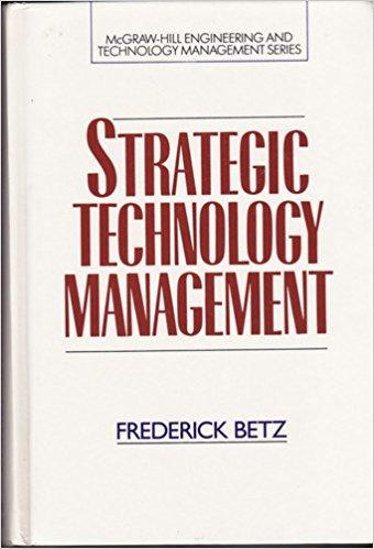 9780070051379: Strategic Technology Management