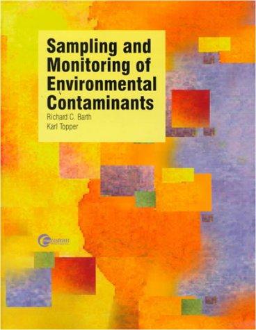 9780070051539: Sampling and Monitoring of Environmental Contaminants
