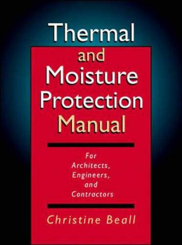 9780070051553: Thermal and Moisture Protection Manual
