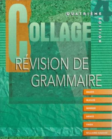 9780070051621: Collage: Revision de grammaire (Student Edition)