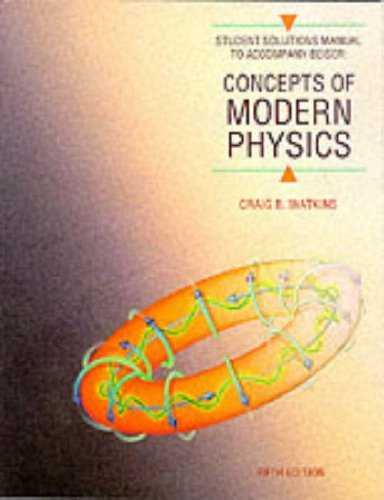 9780070051812: Concepts of Modern Physics: Student Manual