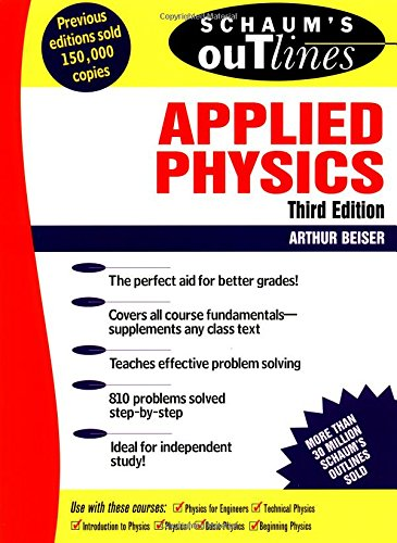 9780070052017: Schaum's Outline of Applied Physics
