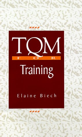 9780070052109: TQM For Training