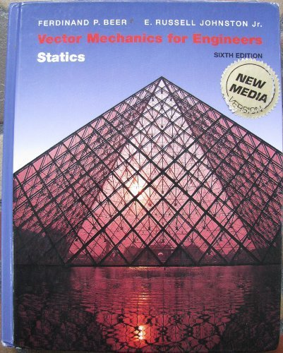 9780070053670: Vector Mechanics for Engineers Stati 6ed