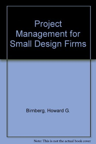 9780070054004: Project Management for Small Design Firms