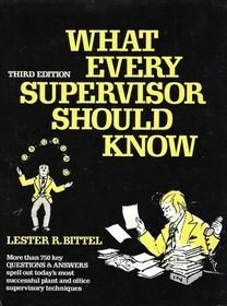 9780070054592: Title: What Every Supervisor Should Know