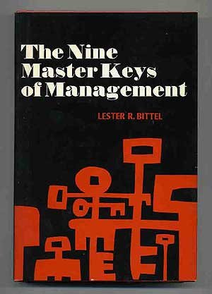 9780070054769: Nine Master Keys of Management
