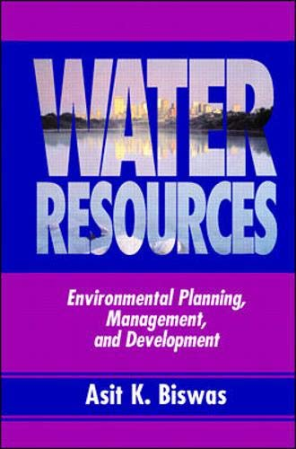 9780070054837: Water Resources: Environmental Planning, Management and Development