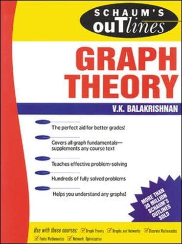 9780070054899: Schaum's Outline of Graph Theory: Including Hundreds of Solved Problems (Schaums' Outline Series)